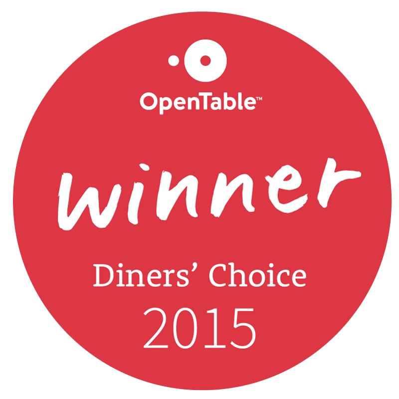 Comedor is selected for OpenTable Diners' Choice Award